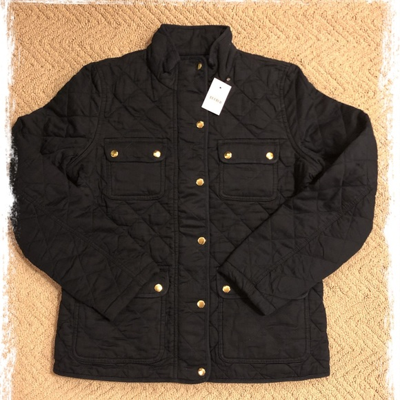 J. Crew Jackets & Blazers - New J.Crew navy quilted field jacket